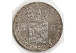 2½ gulden 1872 zf+