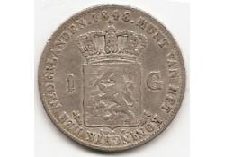 1 gulden 1848 ZF-