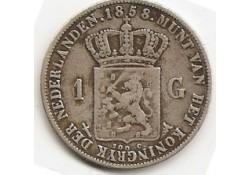 1 gulden 1858 ZF