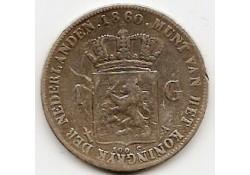 1 gulden 1860 ZF