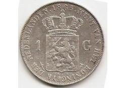 1 gulden 1865 ZF+