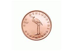 1 Cent Slovenië 2012 UNC