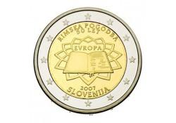 2 Euro Slovenië 2007 Verdrag van Rome Unc