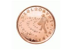 5 Cent Slovenië 2012 UNC