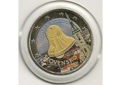 2 euro Slowakije 2009 20 jaar dag van de strijd Gekleurd 098/3