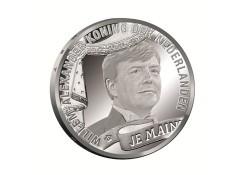 Nederland 2013 10 Euro Koningstientje Verzilverd Unc