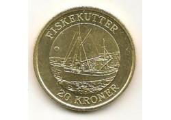 Km ??? Denemarken 20 Kroner 2012 Unc Fiske Kutter