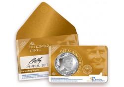 Nederland 2013 10 Euro Koningstientje Verzilverd 1e dag uitgifte