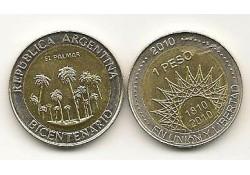 Km 156 Argentinië 1 Peso 2010