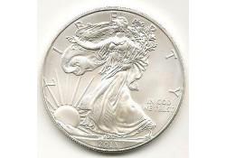 Km 273 U.S.A. Silver Eagle 2013 Unc 1 Ounce