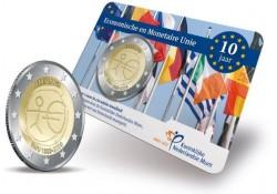 Nederland 2009 2 Euro Emu UNC in Coincard