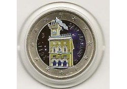 2 Euro San Marino 2011 Gekleurd Type 6