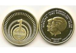 Km ??? Bes Eilanden 1 Dollar 2013 Unc Beatrix & Alexander