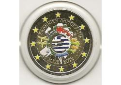 2 Euro Griekenland 2012 10 Jaar Euro Gekleurd 147/4
