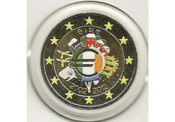 2 Euro Ierland 2012  10 Jaar Euro Gekleurd 148/4