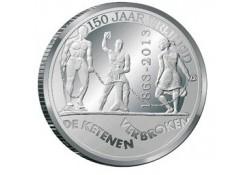 5 Gulden NA Zilver 2013 Afschaffing Slavernij