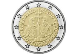2 Euro Slowakije 2013  Konstantin Metod Unc