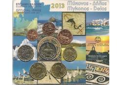 Bu set Griekenland 2013 met de normale 2 euro