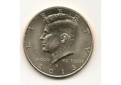 KM ??? U.S.A. ½ Dollar 2013 D UNC