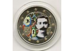 2 Euro Frankrijk 2013 Coubertin Gekleurd 194/3