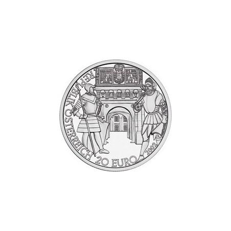 Oostenrijk 2002 20 euro die Neuzeit Proof Incl dsje & cert.