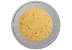 2 Euro Finland 2013  150 jaar parlement Unc