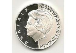 Penning Zilver Beatrix 70  jaar
