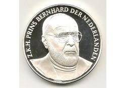 Penning Zilver in Memoriam prins Bernhard