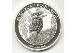 Km ??? Australië 1 Dollar Kookaburra 2014 1 ounce Silver