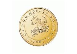 Monaco 2001 10 cent 2001 unc