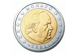 Monaco 2002 2 Euro Unc
