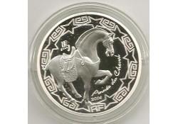 Frankrijk 2014 10 euro Proof Jaar van het Paard Incl dsje & Cert