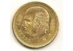 KM 473 Mexico 10 Pesos 1959 Goud Kleine oplage