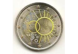 2 Euro België 2013 100 jaar KMI Gekleurd 189/4