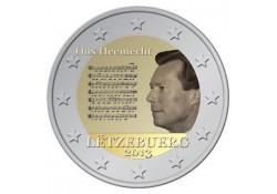 2 Euro Luxemburg 2013 Volkslied Unc