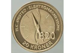 Km ??? Denemarken 20 Kroner 2013 Hans Christian Ørsted's electro