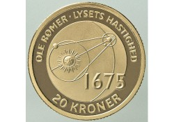 Km ??? Denemarken 20 Kroner 2013 Ole Rømer's diagram describing