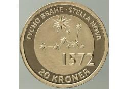 Km ??? Denemarken 20 Kroner 2013 Tycho Brahe's  the star Stella