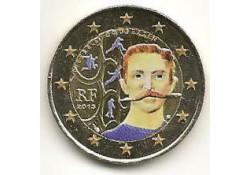 2 Euro Frankrijk 2013 Coubertin Gekleurd 194-2