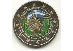2 Euro Griekenland 2013 Kreta Gekleurd 192/3