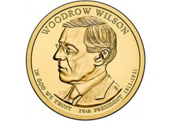 KM ??? U.S.A. 28 th President Dollar 2013 P Woodrow Wilson