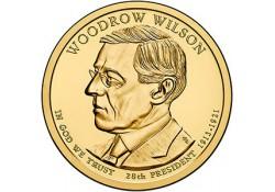 KM ??? U.S.A. 28 th President Dollar 2013 D Woodrow Wilson