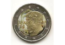 2 Euro Griekenland 2013 Plato Gekleurd 205/2