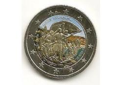 2 Euro Griekenland 2013 Kreta Gekleurd 192/2