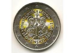 2 Euro Slowakije 2013 Konstantin Metod Gekleurd 181/3