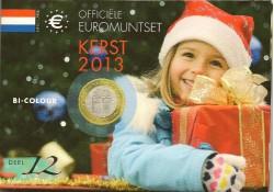 Nederland 2013 Kerstset deel 12 met de 2 euro Koninkrijk