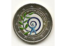 2 euro Griekenland 2011 Athene 2011 Gekleurd 134/3