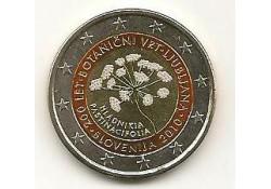 2 Euro Slovenië 2010 Botanische tuin gekleurd 109/1