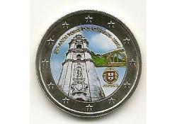 2 Euro Portugal 2013 Clerigos Unc Gekleurd 180/4