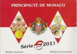 Monaco 2013 Bu set incl. de 2 euro comm.